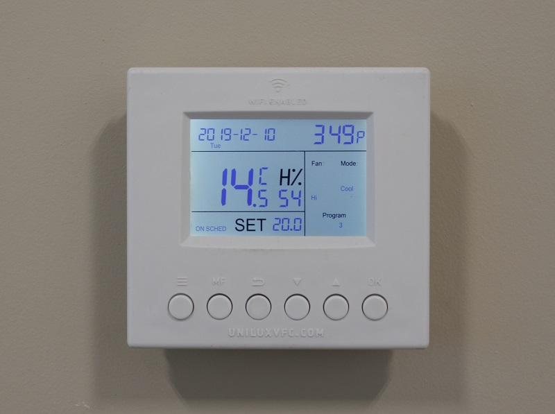 Unilux Pro AM Wi-Fi Thermostat - Digital, Programmable Thermostat